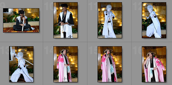 Bleach photoshoot at Nekocon 2013