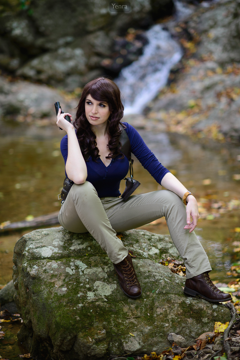 Genderbend Nathan Drake From Uncharted 4