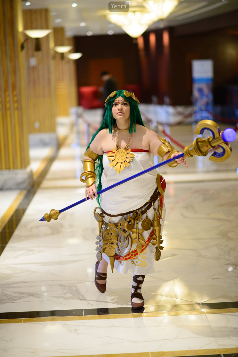 Lady Palutena From Kid Icarus