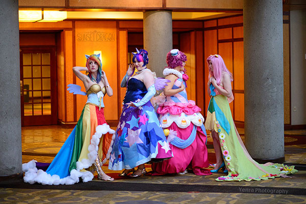 My Little Pony Gala Gowns